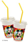 8 Milkshake Becher Mickey Mouse Clubhouse