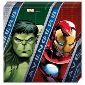 20 Servietten Avengers Assemble