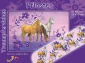 """10 Pflaster """"Traumpferdchen Blütenzauber"""" für Kinder"""