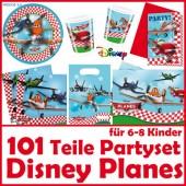 101-teiliges DISNEY PLANES Kindergeburtstag-Set