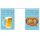 Wimpelkette Bier & Brezeln