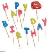 14 Happy Birthday Kerzen Cars