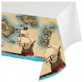 Tischdecke Schatzkarte Pirat