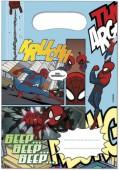 6 Partytüten Ultimate Spiderman