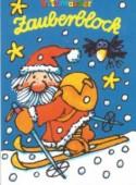 Zauberblock Weihnachtsmann auf Skiern A8
